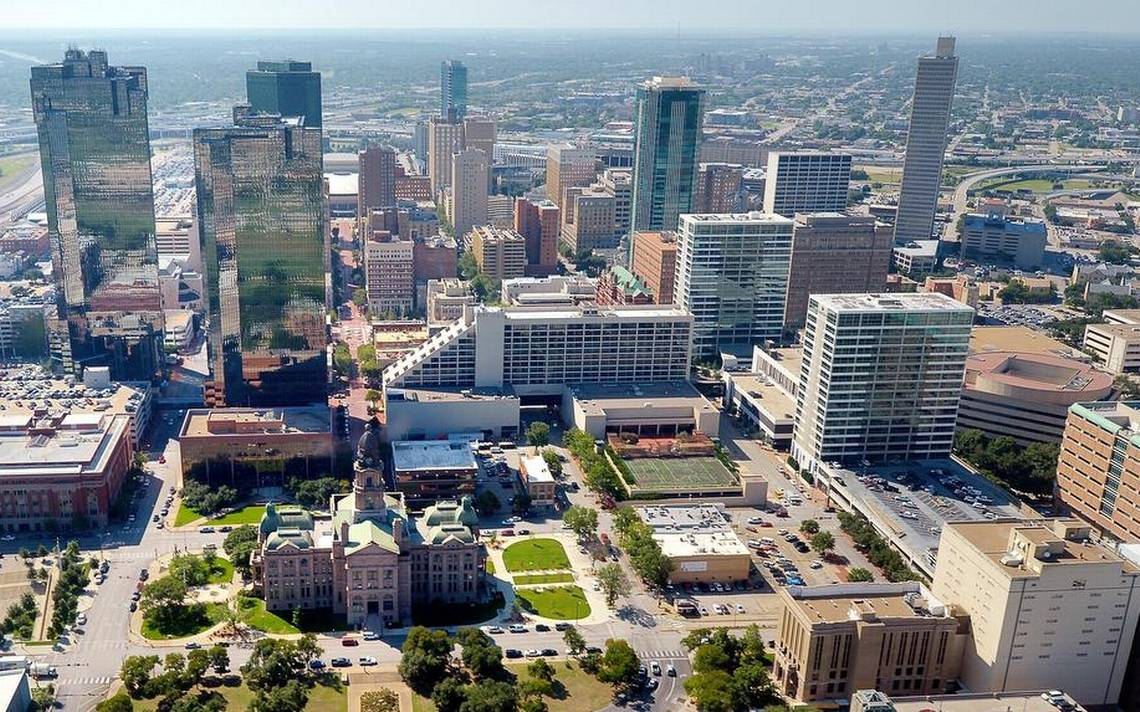 aerial fort worth