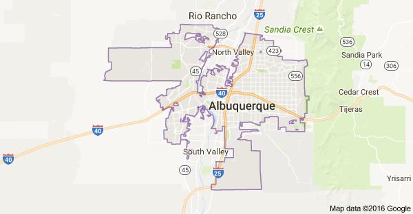 albuquerque-map