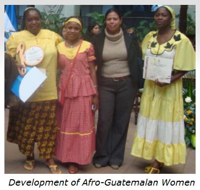 Afro-Guatemalan-women