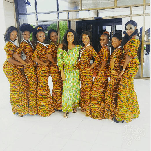 kaba-and-slit-outfit-for-bridesmaids