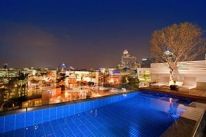 three-level-Sandton-penthouse-night-city-view
