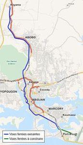 Tracé_train_urbain_d'Abidjan