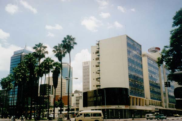Zimbabwe-Harare-center