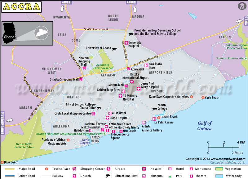 national capital region map pdf