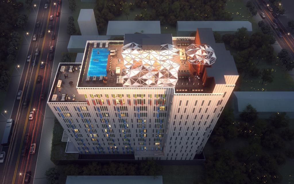 Edifice Hotel 21 stories