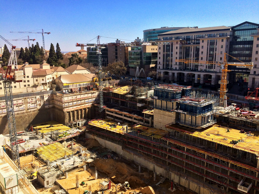 Sandton Riverwalk Construction