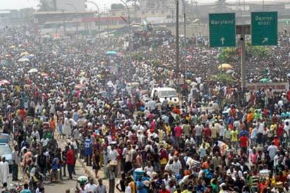 Lagos Crowded
