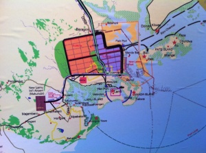 Lamu-port-map
