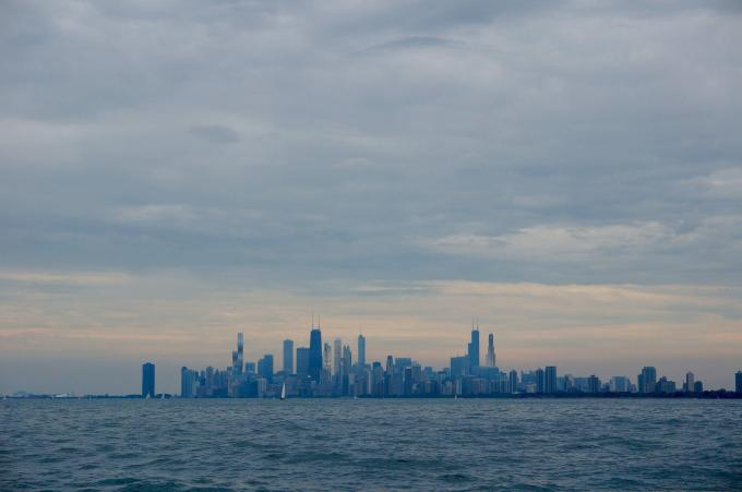 Chicago 2020 skyline