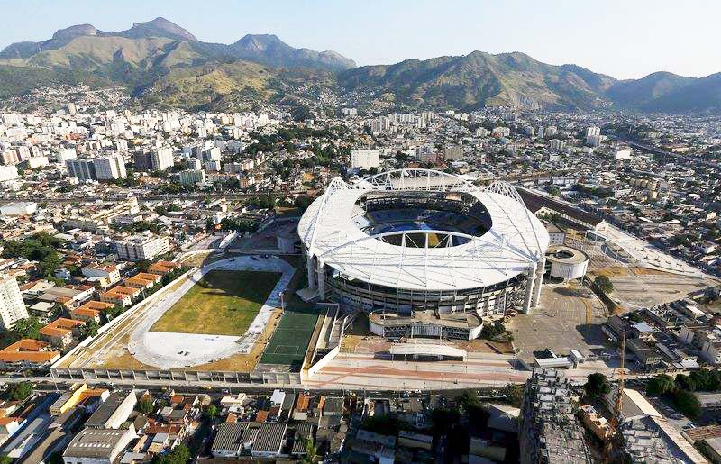 An-aerial-view-shows-Rio-Olympic-Stadium-in