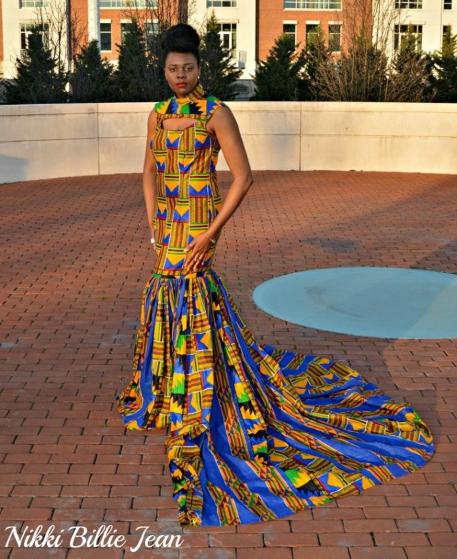 Nikki-Billie-Jean_s-Mixed-Kente-Print-Gown-for-the-Exquisite-Ghana-Independence-Ball-2016-4