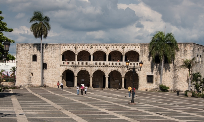 alcacc81zar-de-colocc81n-the-home-oriinally-built-for-diego-colocc81n-son-of-christopher-columbus-in-the-historic-zona-colonial-santo-domingo-dominican-republic